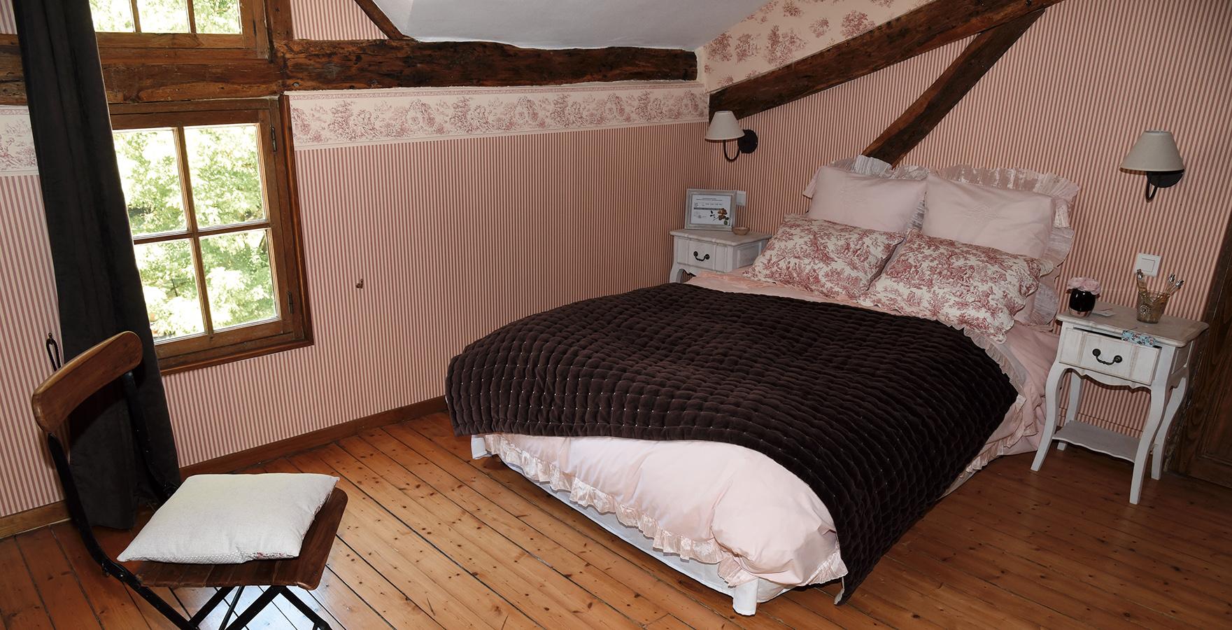 Chambre Rose Belle de Dom